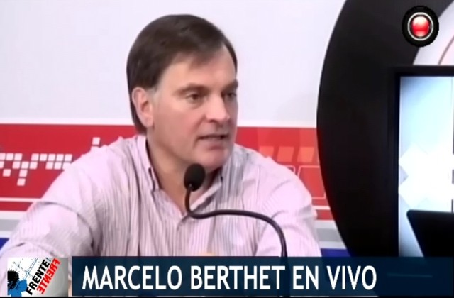 <b>VIDEO EXCLUSIVO.</B> ¿Renunciaría Berthet a la Intendencia?