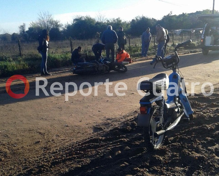 Dos accidentes con motos en San José
